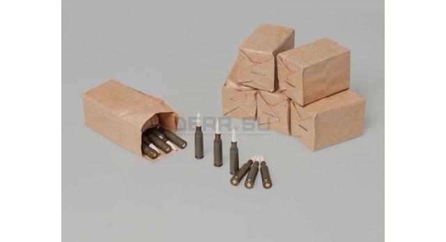 Армейские холостые патроны АК-74 (5,45х39-мм) / 30 шт. пачка [сиг-370]