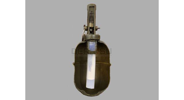 Страйкбольная граната РГД-5 с поражающими элементами (RGD-5S PyroFX) /  Поражающий элемент шары ВВ 0,2 грамма [сиг-356]