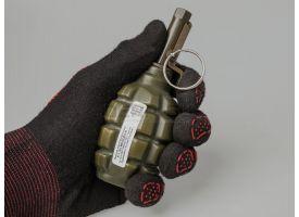 Меловая пейнтбольная граната Ф1 (F-1D PyroFX) / Поражающий элемент - меловой порошок [сиг-353]