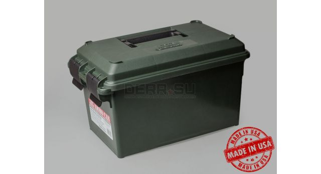 Влагозащищённый кейс МТМ Ammo crate / Размеры 15.2х12.7х17.8-см [АС11]