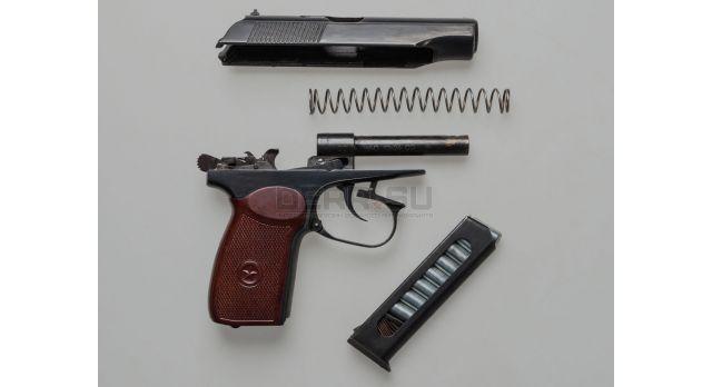 Охолощённый пистолет Макарова ранних выпусков (49-54 гг.) / ПМ-О (Фортуна) 1954г. переходная модель [со-50]