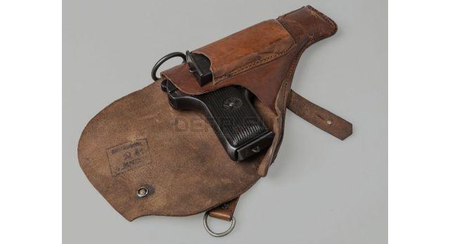 Кобура для пистолета ТТ / С кольцами кожа, кирза [сн-9]