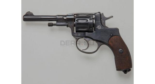 Царский сигнальный револьвер Наган «Блеф» / Из оригинала 1918 года с солдатским УСМ №21823П [наган-126]