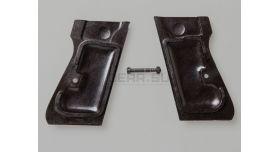 Накладки для пистолета Walther PP/PPK / Оригинал черный пластик склад [вал-33]