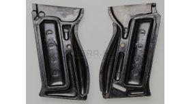 Накладки для пистолета Walther P-38 / Оригинал черный бакелит комплект склад [вал-5]