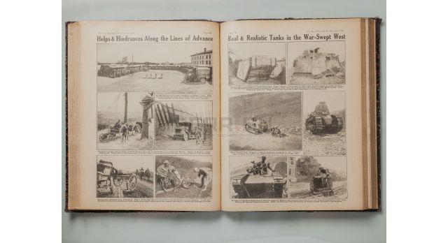 Подшивка журнала «The War illustrated» / с 17 апреля 1918 по 8 февраля 1919 [кн-57]