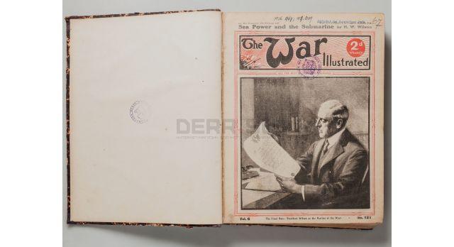 Подшивка журнала «The War illustrated» / с 17 февраля 1917 по 11 августа 1917 [кн-64]