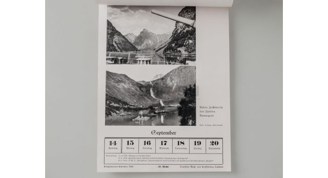 Календарь Кригсмарине «Kriegsmarine-kalender» / за 1941 год [кн-334]