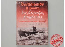 Книга «Deutschlands U-Boot der Shreken Englands» (Немецкие подлодки пугающие Англию)