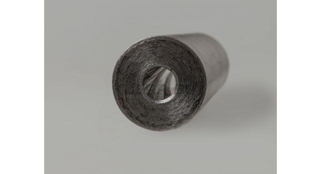 Бланк ствола 9х17-мм /  CIP 9х17 Нормализованная сталь 30ХГСА внешний диаметр 20-мм длина 120-мм [нг-98]