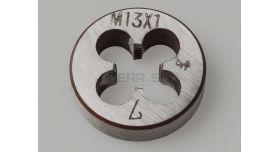 Плашка М13х1 левая / Сталь 9ХС [инстр-59]